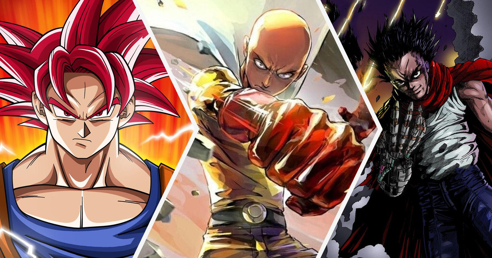 30 Strongest Anime Characters Ever, Officially Ranked ...