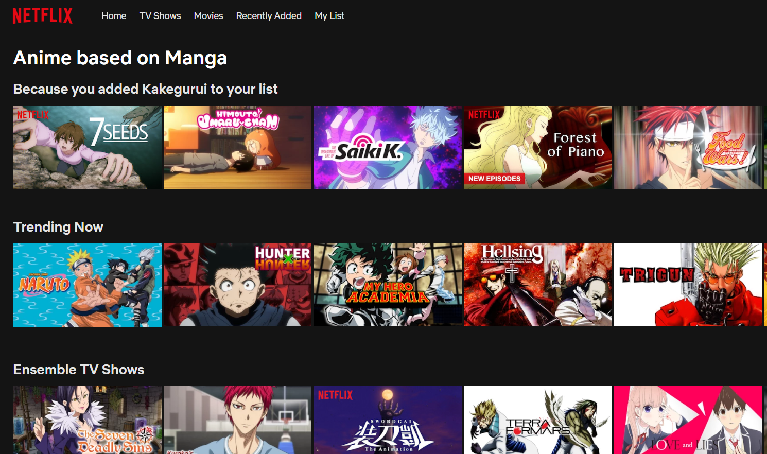8 Animes that Make Netflix Worth it