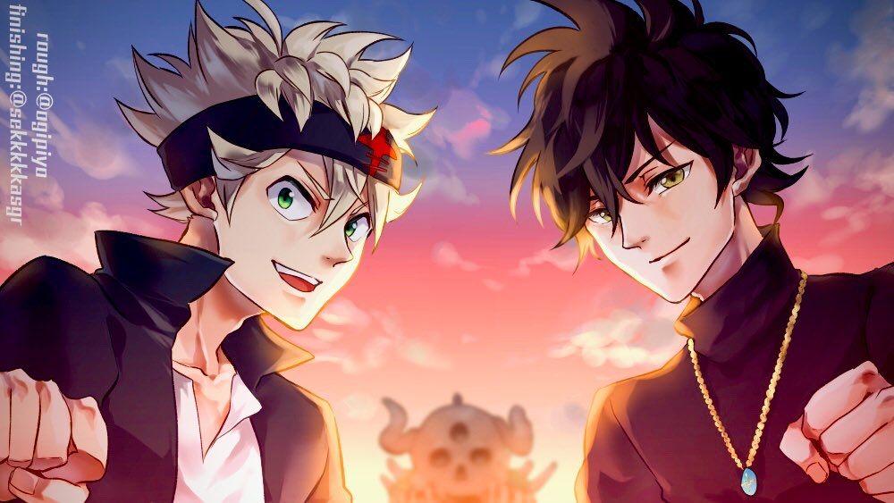 Anime: Black Clover #anime #manga #art #artwork #fanart # ...