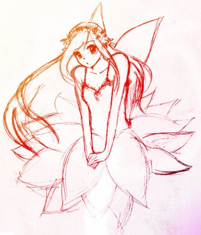 anime fairy drawing at getdrawings free download