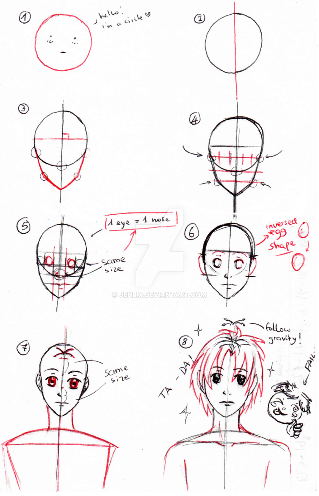 Drawing Anime For Beginners Step By Step
