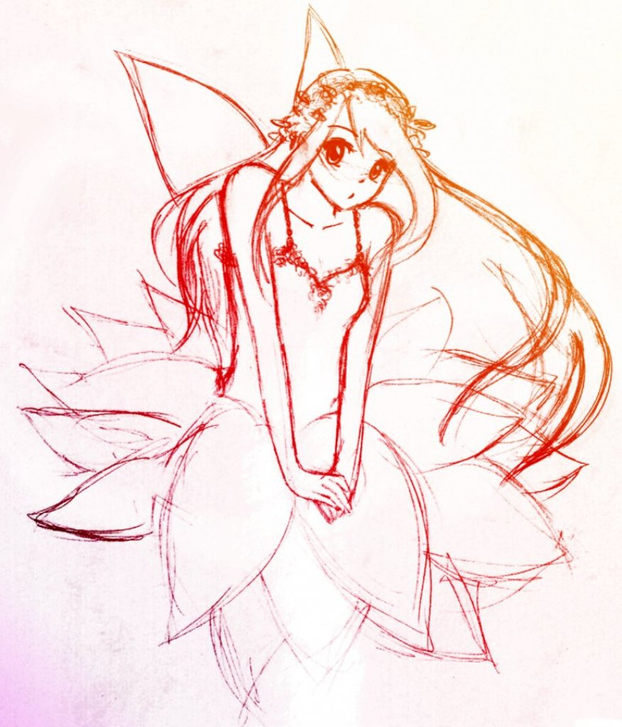 Fairy Drawing Images at GetDrawings