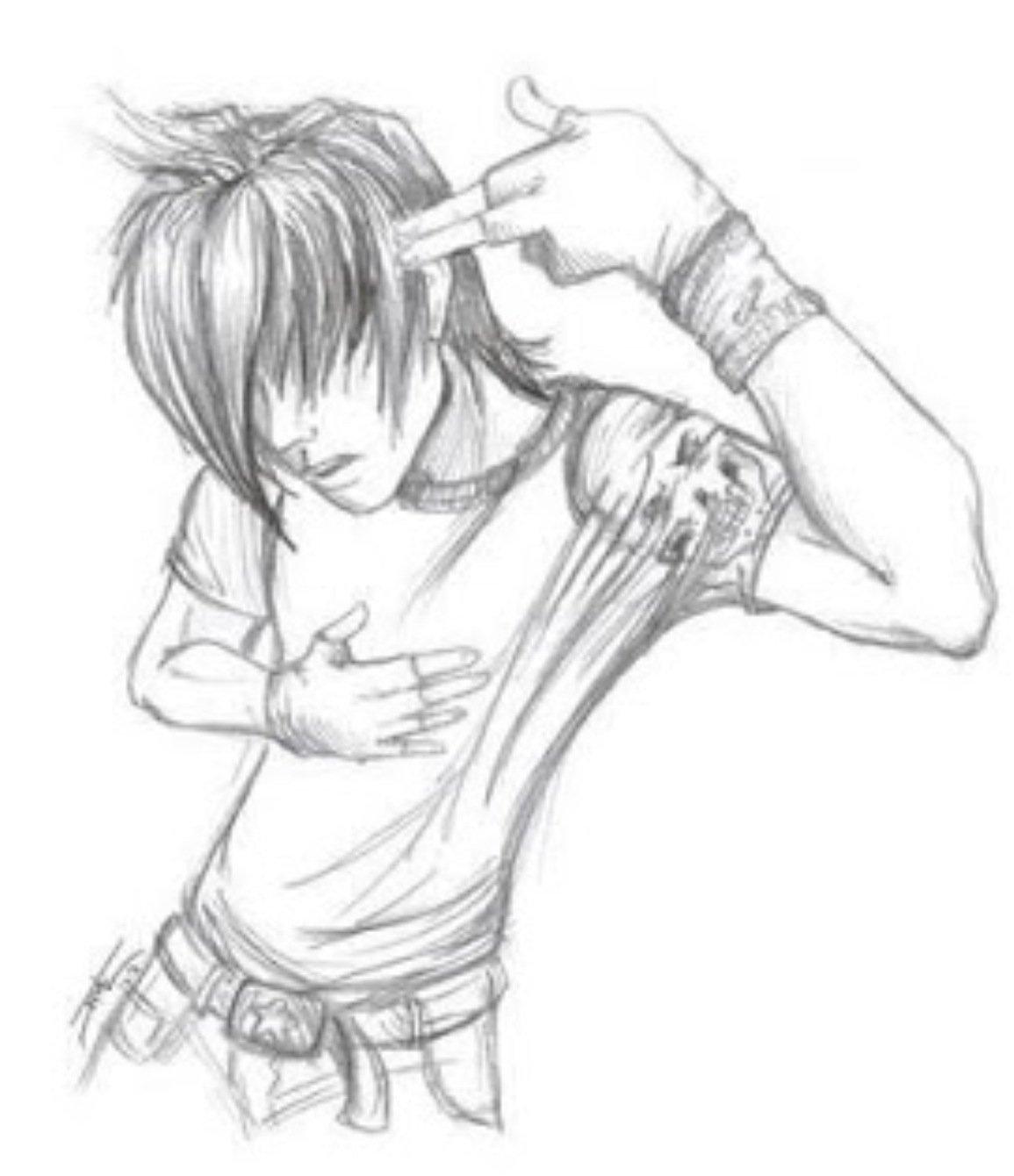 Hot Anime Girl Drawing at GetDrawings