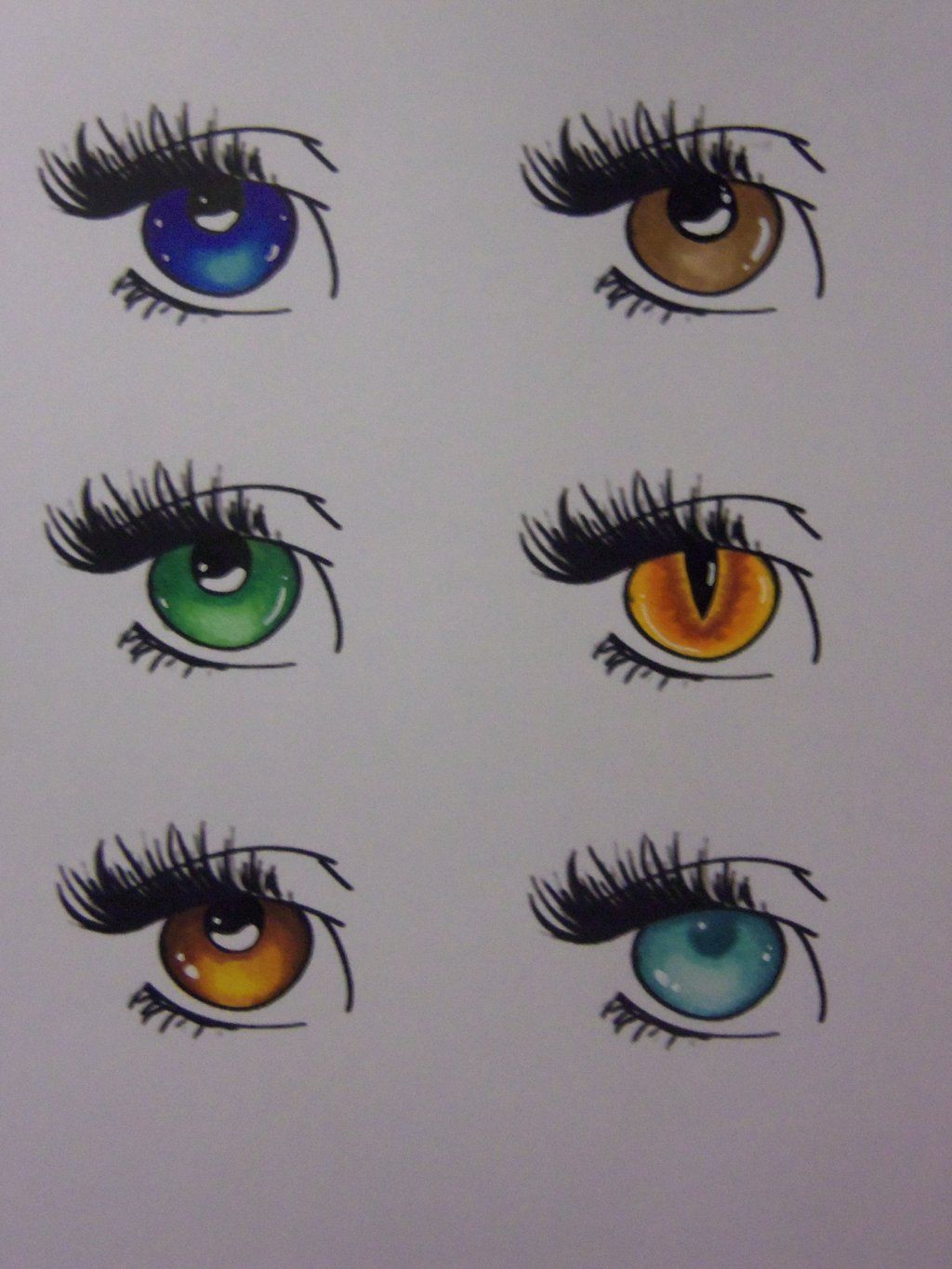 How to color eyes with Copic by ~RikuYanki on deviantART ...