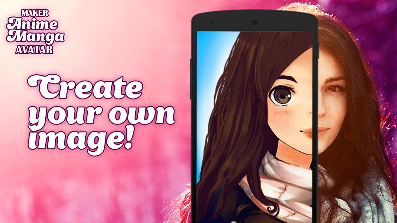 Maker anime manga avatar for Android