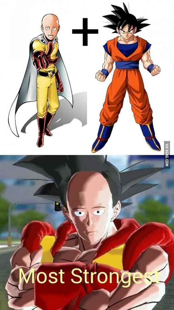 who is the strongest anime character ever created and why