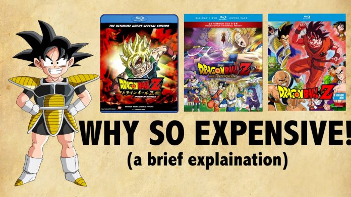 why is anime so expensive compared to mainstream tv youtube